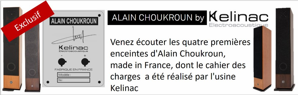 Kelinac Enceintes Alain Choukroun HiFi113