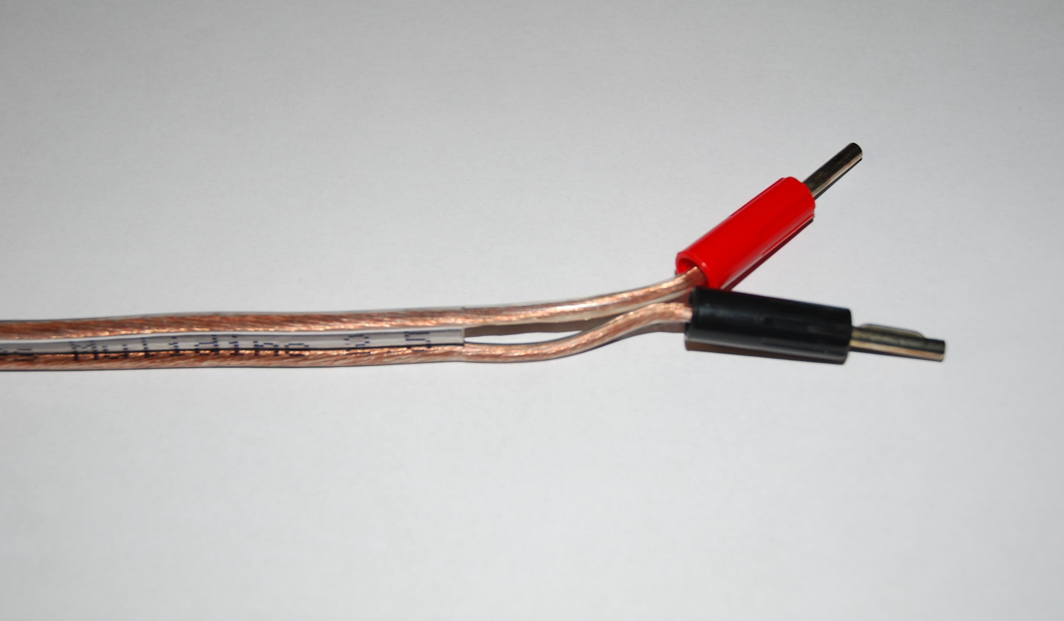 Câbles enceintes Mulidine 2,5 - 2x4 mètres